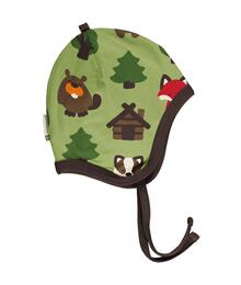 Maxomorra Hat Helmet Velour GREEN FOREST 40/42 C3408-M484-04004 - 73145002532