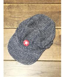 Kik-kid Cap woven dark blue/white S19 HCA 58s