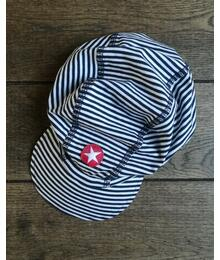 Kik-kid Cap plain d.blue/white S20 HCA 511s - 309