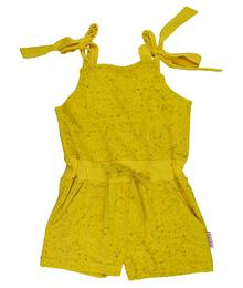 Baba babywear Jumpshort Lemon S20 Speckled Terry