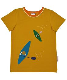 Baba Kidswear SS21 T-shirt boys/Jersey single lycra digital print/Chai tea
