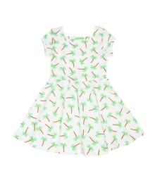 Lily Balou Kiki Dress Palm Trees EAN 2110635029128