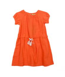 Lily Balou Lucy Dress Muslin Red Orange 91-LUC-M-RO