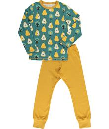 Maxomorra Pyjama Set LS Golden Pear M437-D3271