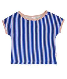 Baba babywear Multicolor t-shirt girls Stripes S20 Jersey single lycra AOP