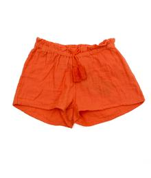 Lily Balou Nanou Shorts Muslin Red Orange 91-NAN-M-RO