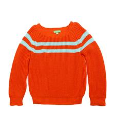 Lily Balou Otis Jumper Knitwear Red Orange 91-OTI-KN-RO