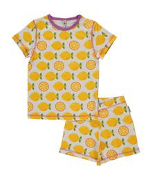 Pyjama short sleeves lemon P8SP-S345-D3098