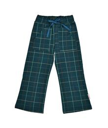 Baba babywear Pocket pant Checked blue W20 Punto di roma