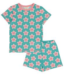 Maxomorra Pyjama Set SS STARFISH C3478-M439
