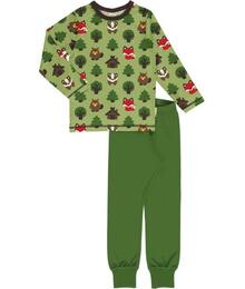 Ammehoela Pyjama Set LS GREEN FOREST C3408-M437 73145002961