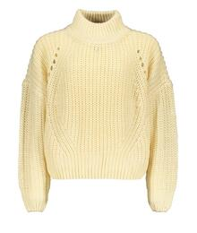 Street Called Madison Luna heavy knit sweater BRIGHT S008-5312 022 - OW