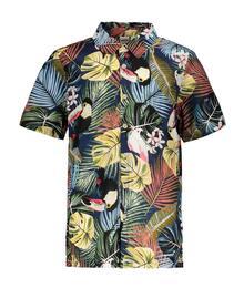 Street Called Madison Charlie linen look ss shirt ALOHA S102-4103 EAN 8720173370640