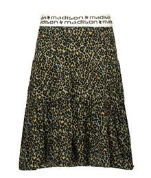 Street Called Madison Luna viscose panther skirt MONKIE 380-AR S102-5711 EAN 87201733777