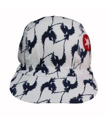 Kik-kid Cap birds white cap S18 HCA 50I