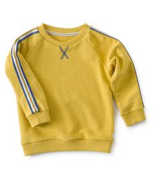 Little label Crew sweater warm yellow 87198746896