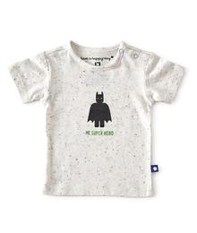 Little label T-shirt multi speckle 87198746809