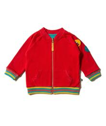Little Green Radicals Explorer Badge Reversible Jacket S20-852-RED