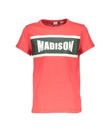 Street Called Madison Charlie slub tee Hey Charlie red S902-4409