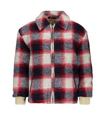 Street Called Madison Charlie check jacket KENT S908-4204 261TO