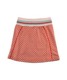 Baba babywear Short skirt red bricks S19 jacquard