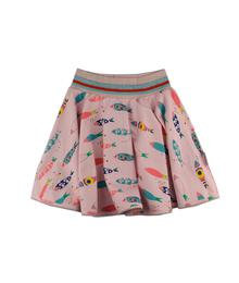 Baba babywear Skirt Fish S19 jersey cotton lycra digital print