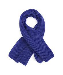 Scarf knit royal blue