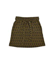 skirt cubes front side jacquard