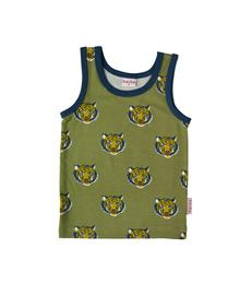 Baba babywear Tanktop tiger S19 jersey single lycra screenprint