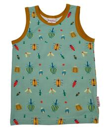 Baba Kidswear SS21 Tanktop/Jersey single lycra digital print/Happy beetles