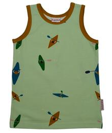 Baba Kidswear SS21 Tanktop/Jersey single lycra digital print/Kayak river