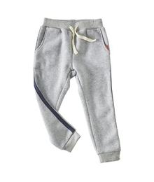 pants grey stripe blue