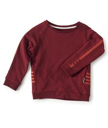 fancy sweater - burgundy