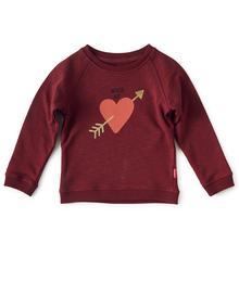 sweater - dark red - wild