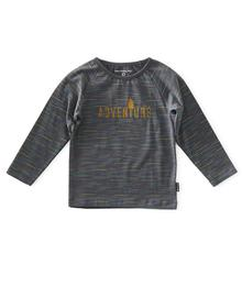 Little Label Ragalanshirt - anthracite multicolor W19KBRS.688 87200393567