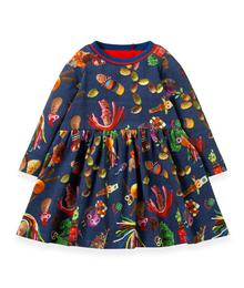 Oilily Twarrels jersey dress 56 potato fun YF19GDR084566
