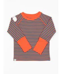 Alba of Denmark HENRIK BLOUSE - SPICY ORANGE MAGIC STRIPES SKU: 2711