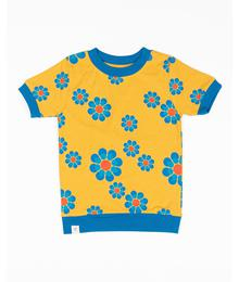 Alba of Denmark Vesta T-shirt Bright Gold Flower Power 2645 - 653