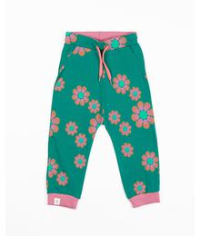 Alba of Denmark Lucca Baby Pants Alpine Green Flower Power Love 2665 - 631
