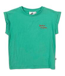 COS I SAID SO BOXY T-SHIRT MARINE GREEN ISLANDS IN THE STREAM (EMBROIDERY) EAN 54200795584